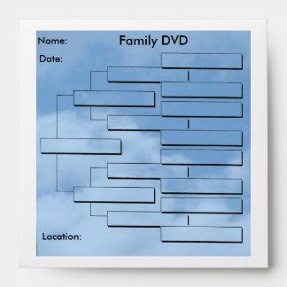 Genealogy DVD Envelopes