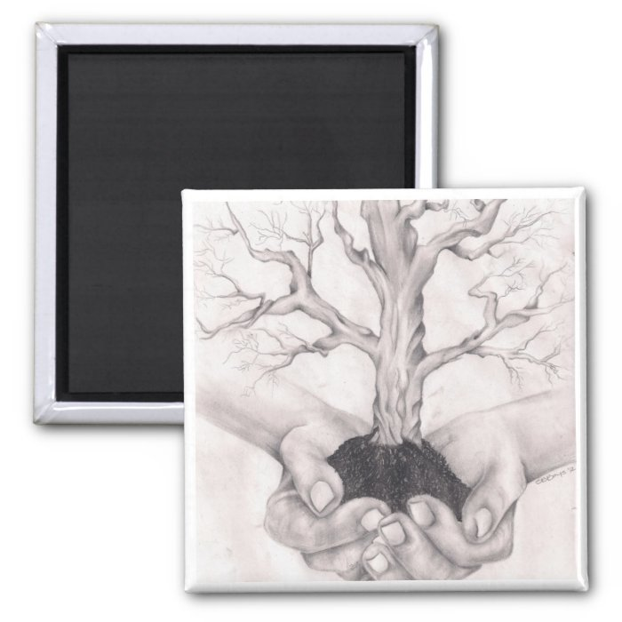 Genealogy & Family History 2 Inch Square Magnet