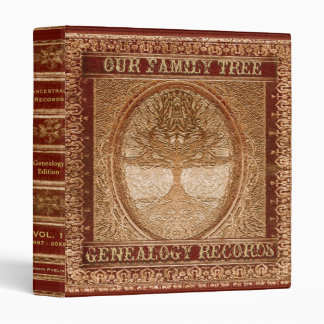 Genealogy Family Tree Binder