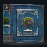 """Genealogy Family Tree in Blue Binder<br><div class=""""desc"""">A great looking family tree design that any genealogy enthusiast would love.</div>"""