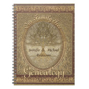 Genealogy Family Tree Notebook (<em>$13.70</em>)