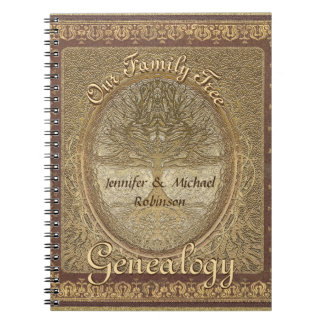 Genealogy Family Tree Notebook