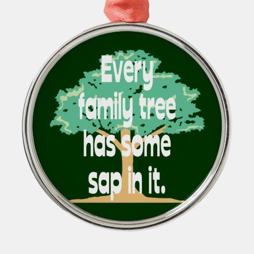 Genealogy Family Tree Ornament