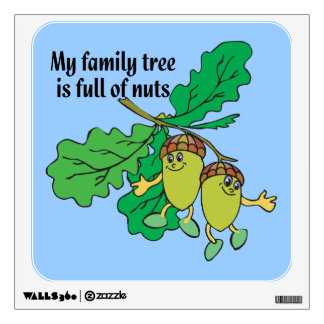 Genealogy - Full of Nuts Wall Graphic