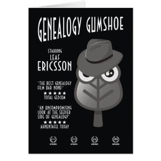 Genealogy Gumshoe Card