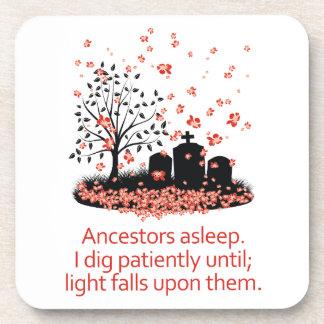 Genealogy Haiku 2012 Coaster