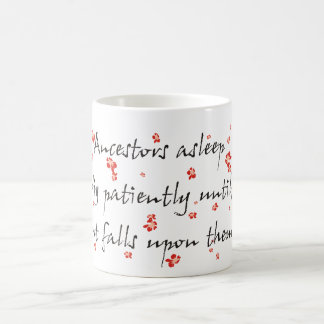 Genealogy Haiku Classic White Coffee Mug