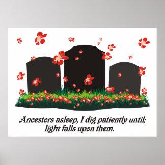 Genealogy Haiku Posters
