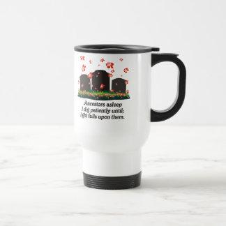 Genealogy Haiku Stainless Steel Travel Mug