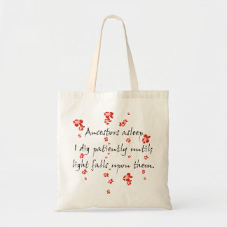 Genealogy Haiku Tote Bag