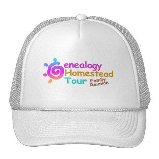 Genealogy Homestead Tour Family Reunion Cap Trucker Hat