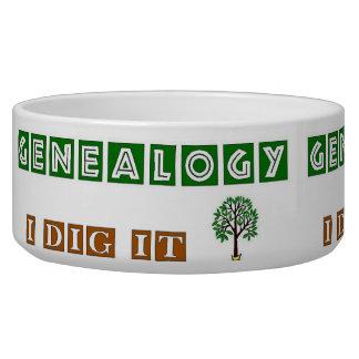 Genealogy I Dig It Bowl