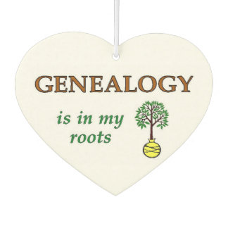Genealogy In My Roots Air Freshener