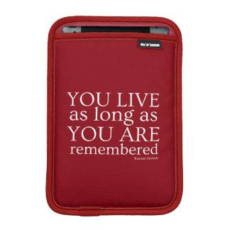 Genealogy iPad Mini Tablet Sleeve (Red)