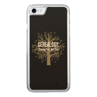 Genealogy iPhone 6 (Black) Carved iPhone 7 Case