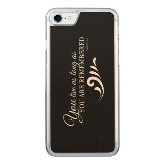 Genealogy iPhone 6 (Black) Carved iPhone 8/7 Case