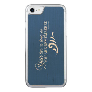 Genealogy iPhone 6 (Blue) Carved iPhone 7 Case