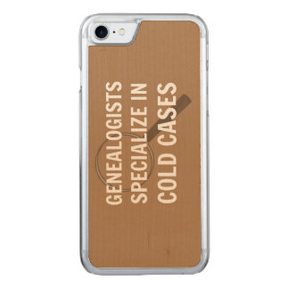 Genealogy iPhone 6 (Brown) Carved iPhone 8/7 Case
