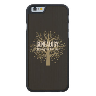 Genealogy iPhone 6 Case (Black)