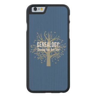 Genealogy iPhone 6 Case (Blue)