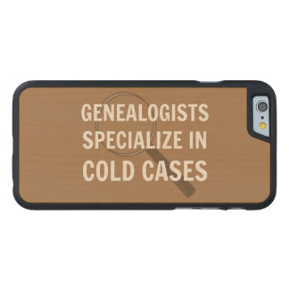 Genealogy iPhone 6 Case (Brown) Carved® Maple iPhone 6 Slim Case