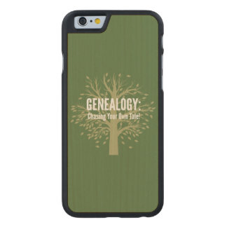 Genealogy iPhone 6 Case Carved® Maple iPhone 6 Case