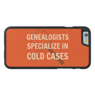 Genealogy iPhone 6 Case (Orange)