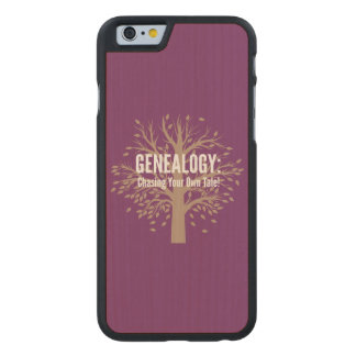 Genealogy iPhone 6 Case (Purple)