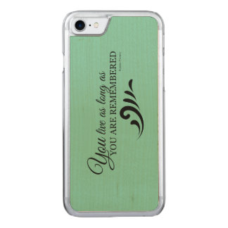 Genealogy iPhone 6 (Green) Carved iPhone 7 Case