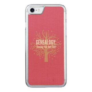 Genealogy iPhone 6 (Pink) Carved iPhone 8/7 Case