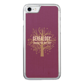 Genealogy iPhone 6 (Purple) Carved iPhone 7 Case