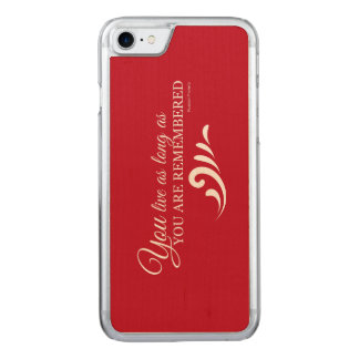 Genealogy iPhone 6 (Red) Carved iPhone 7 Case