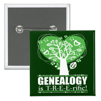Genealogy is T-R-E-E-rific! Pin