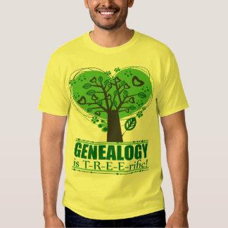 Genealogy is T-R-E-E-rific! T Shirt