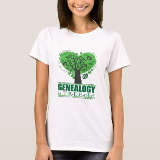 Genealogy is T-R-E-E-rific! T-Shirt