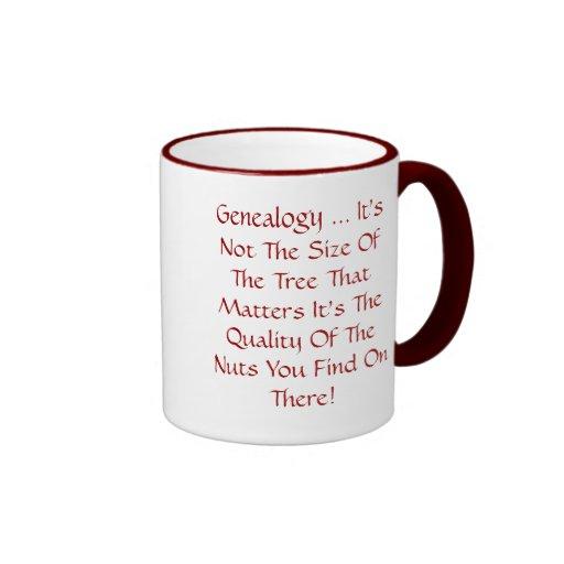 Genealogy ... It's Not The Size Of The Tree Mug
