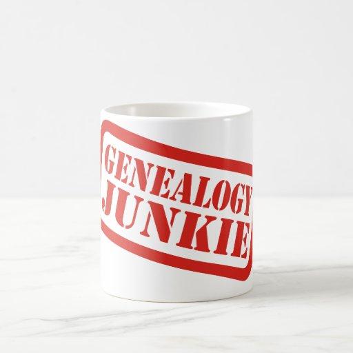 Genealogy Junkie Classic White Coffee Mug