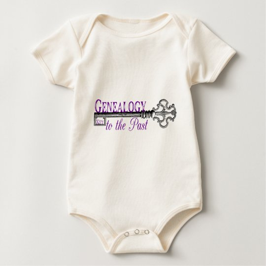 Genealogy Key to Past Baby Bodysuit