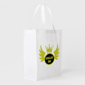Genealogy King Grocery Bag