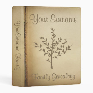 Genealogy Mini Binder