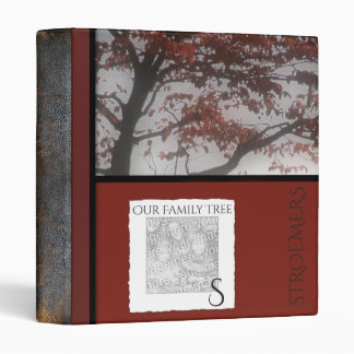 Genealogy Monogrammed | Family Tree Personalized Binder