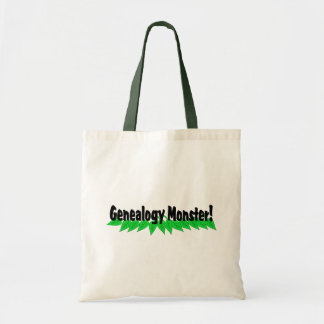 Genealogy Monster Tote Bag