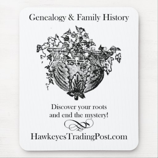 Genealogy Mousepad