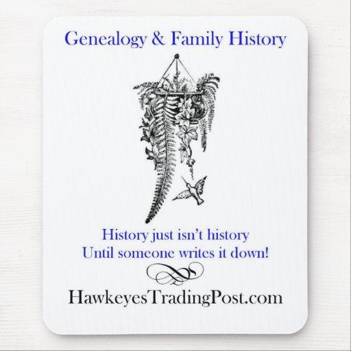 Genealogy Mousepad Hummingbird