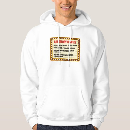 Genealogy Movies Hoodie