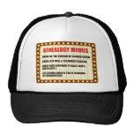 Genealogy Movies Mesh Hat