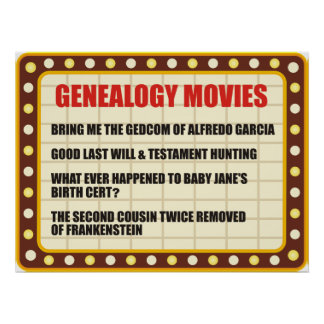 Genealogy Movies Poster