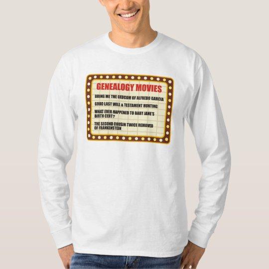 Genealogy Movies T-Shirt