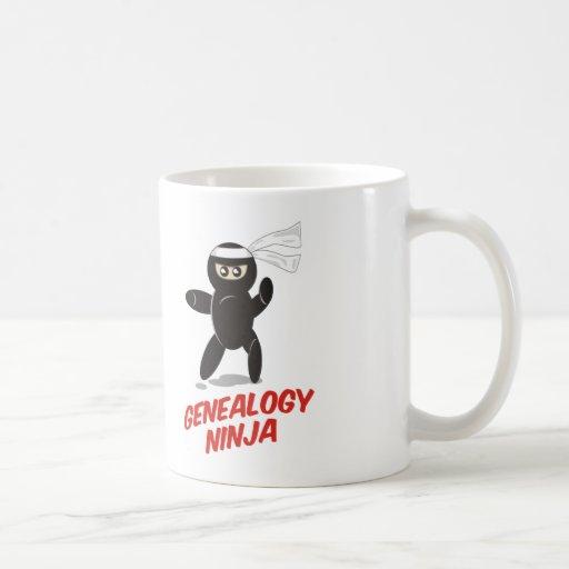Genealogy Ninja Coffee Mug