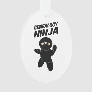 Genealogy Ninja Ornament